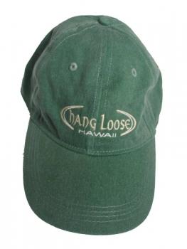 Mützen / Caps - HANG LOOSE - stonewash-olivgrün