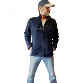 HANG LOOSE - Jacke, 100% Baumwolle, mega-schwer, OHNE Stickerei