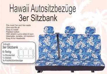 2er/3er- (Zweier/Dreier) Sitzbank - SONDERANGEBOT - II. WAHL - Hawaii Autositzbezug