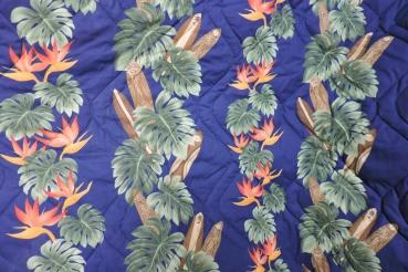 Hawaii Bettdecke oder Rückbankbezug, 220 cm x 115 cm