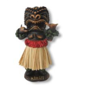 Wackel Hula Figur (10,5cm) - hawaii chief