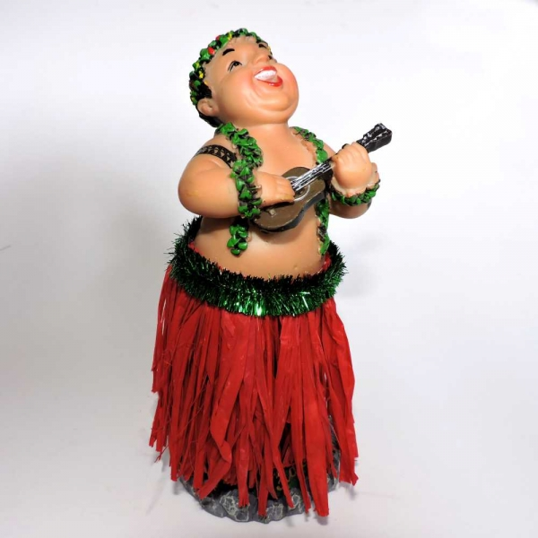 Hawaii Wackel Hula Figur (17cm) - Big Pa